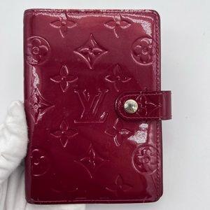 Authentic Louis Vuitton Vernis agenda Pm